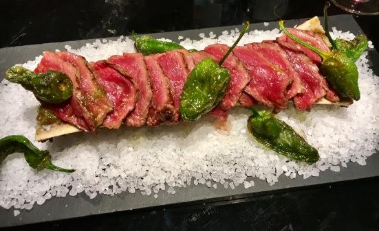 Tataki de vaca rubia gallega