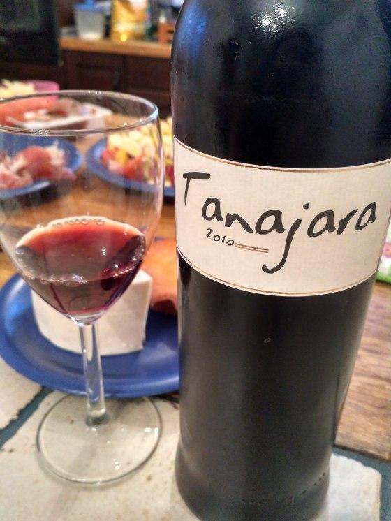 Tanajara 2010 vino tinto de El Hierro