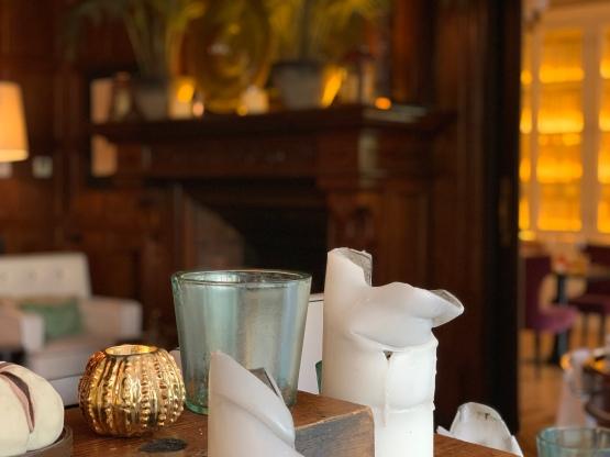 Detalle del interior del restaurante Batuar